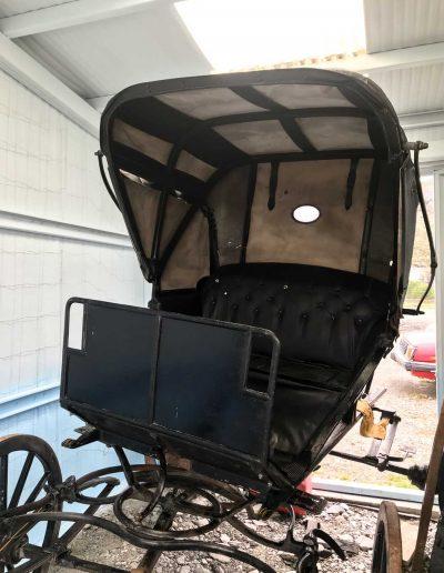 carreta Negra - reparación