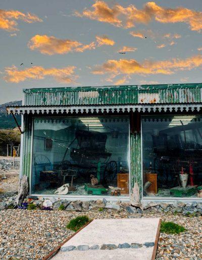 Museo y vista de surtidor